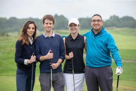 David Anber's Law Office Playing Golf and Raising Money for Charity in the Ottawa Community